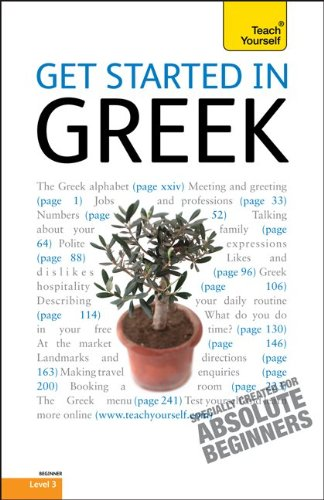 9780071751070: Teach Yourself Get Started in Greek: Beginner Level 3