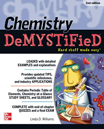 9780071751308: Chemistry DeMYSTiFieD, Second Edition