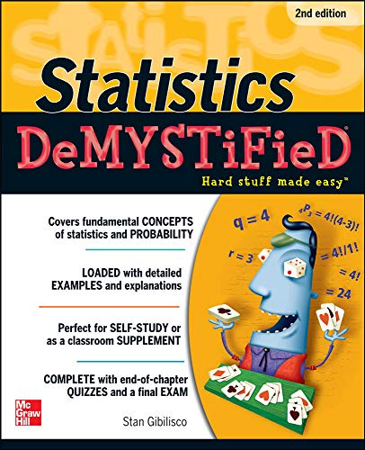 9780071751339: Statistics DeMYSTiFieD, 2nd Edition