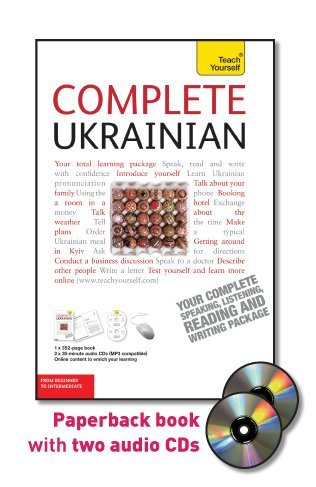 9780071751377: Complete Ukrainian: From Beginner to Intermediate [With 352 Page Book] (Teach Yourself: Language)