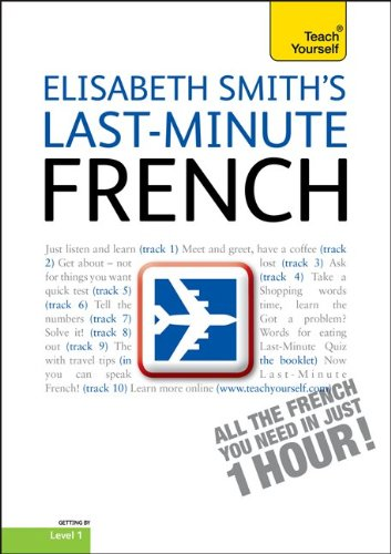 9780071751421: Last-Minute French with Audio CD: A Teach Yourself Guide (TY: Language Guides)