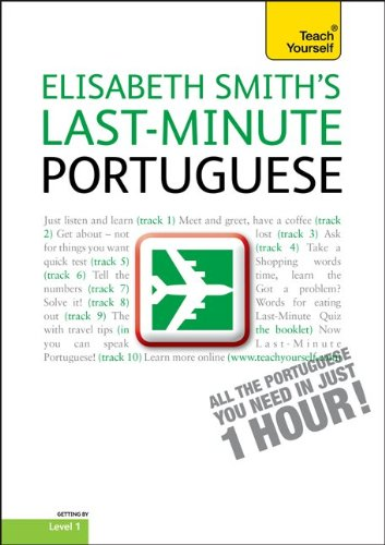 9780071751452: Last-Minute Portuguese with Audio CD: A Teach Yourself Guide (TY: Language Guides)