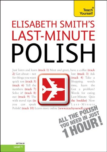 9780071751476: Last-Minute Polish with Audio CD: A Teach Yourself Guide (TY: Language Guides)