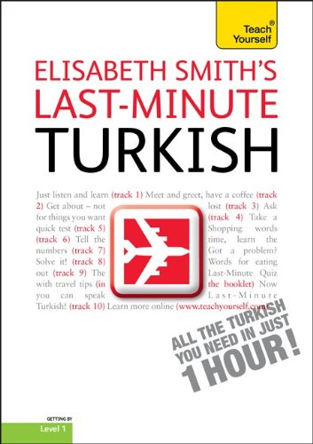 9780071751483: Last-Minute Turkish (Teach Yourself: Level 1)
