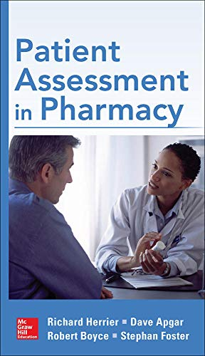 9780071751940: Patient Assessment in Pharmacy