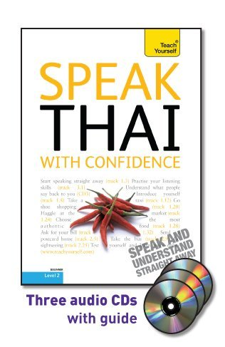 9780071751971: Speak Thai with Confidence with Three Audio CDs: A Teach Yourself Guide (Teach Yourself: Level 2 (Audio))