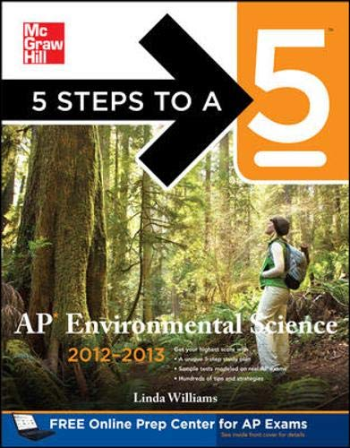 5 Steps to a 5 AP Environmental: Williams, Linda