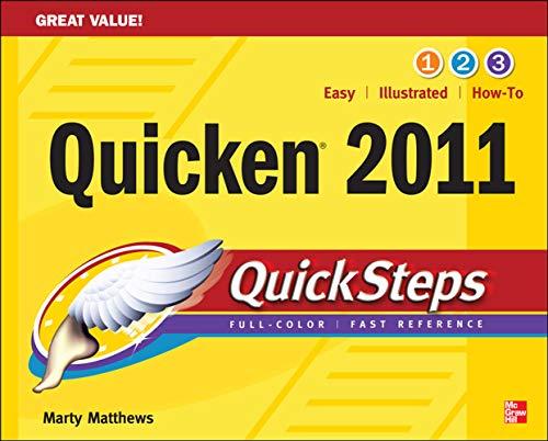 9780071752565: Quicken 2011 QuickSteps