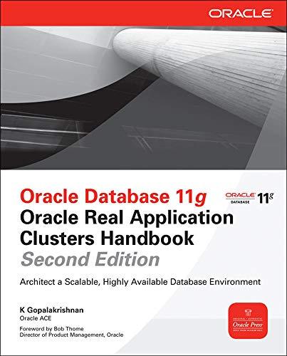 9780071752626: Oracle Database 11g Real Application Clusters Handbook (Oracle Press)