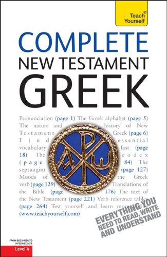 9780071752640: Complete New Testament Greek (Teach Yourself)