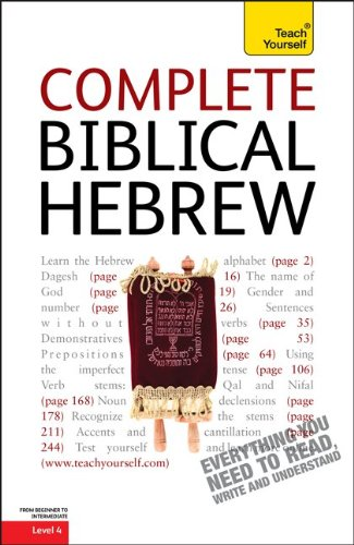 9780071752657: Complete Biblical Hebrew, Level 4 (Teach Yourself (McGraw-Hill))
