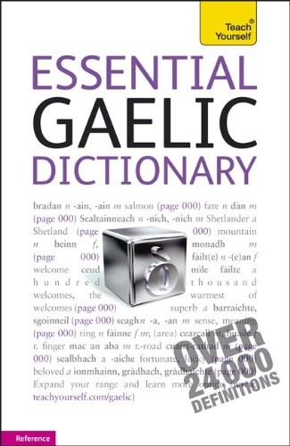 9780071752688: Essential Gaelic Dictionary: A Teach Yourself Guide (TY: Dictionaries)