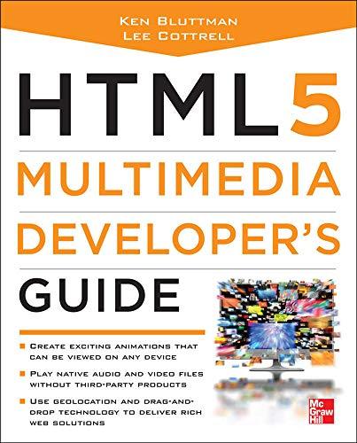 9780071752824: HTML5 Multimedia Developer's Guide
