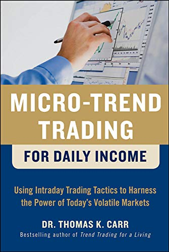 9780071752879: Micro-Trend Trading for Daily Income: Using Intra-Day Trading Tactics to Harness the Power of Today's Volatile Markets