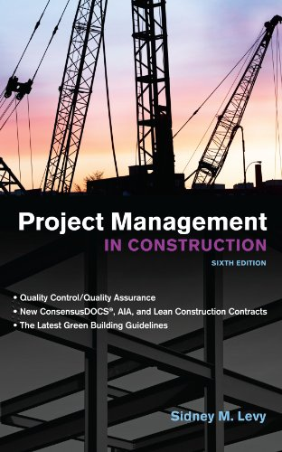 9780071753104: Project Management in Construction, Sixth Edition