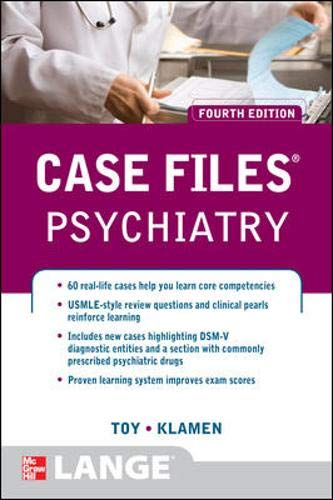 9780071753913: Case Files Psychiatry, Fourth Edition (LANGE Case Files)