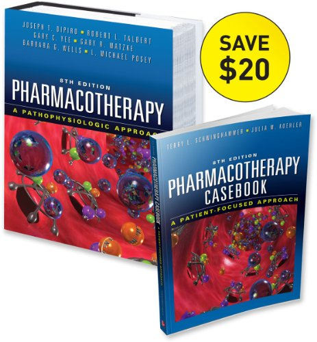 9780071753920: Casebook of Pharmacotherapy & Pharmacotherapy: A Pathophysiologic Approach 8/E Value Pack