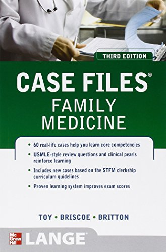 9780071753951: Case Files Family Medicine, Third Edition (LANGE Case Files)