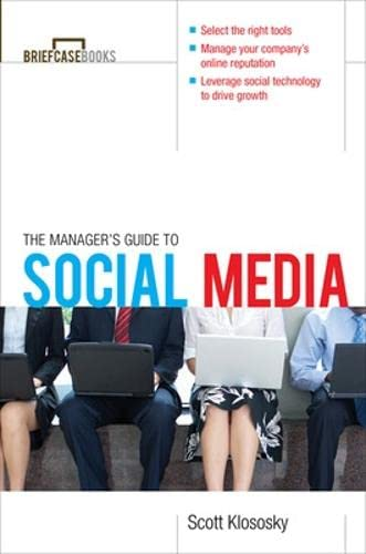 9780071754330: Manager's Guide to Social Media (Briefcase Books Series)