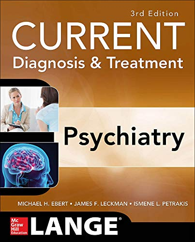 9780071754422: CURRENT Diagnosis & Treatment Psychiatry, Third Edition (Lange Current Series)