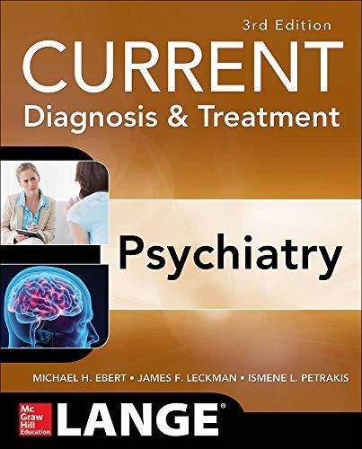 9780071754422: CURRENT D&T PSYCHIATRY 3E (Lange Current Series)