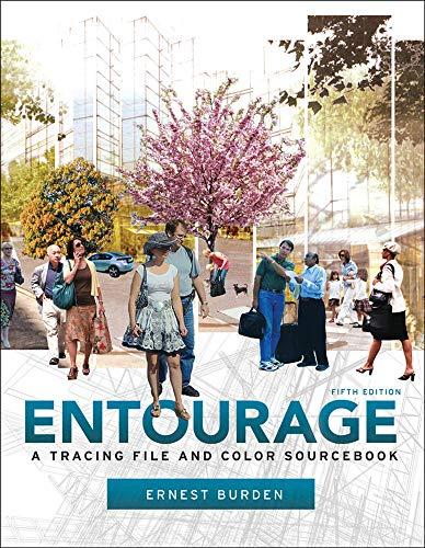 Entourage 5th Edition: A Tracing File and Color Sourcebook: Burden, Ernest