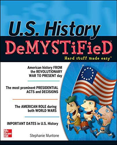 9780071754637: U.S. History DeMYSTiFieD