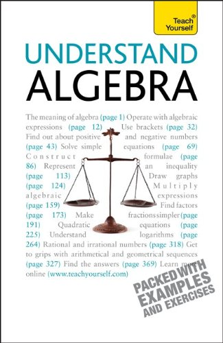 9780071754859: Understand Algebra (Teach Yourself (McGraw-Hill))
