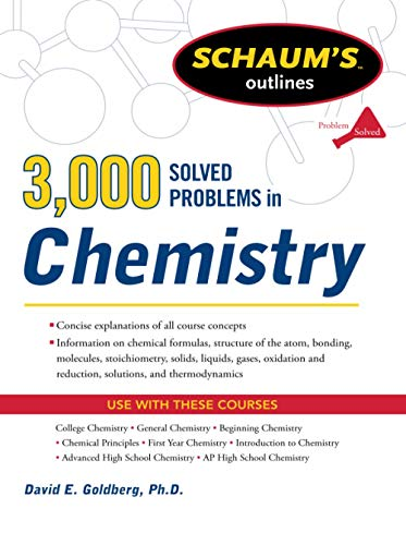 9780071755009: 3,000 Solved Problems In Chemistry (Schaum's Outlines)