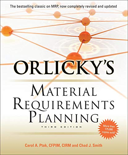 9780071755634: Orlicky's material requirements planning