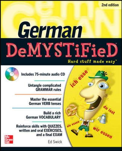 9780071755887: German DeMYSTiFieD, Second Edition
