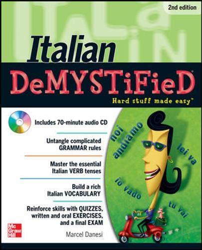 9780071756013: Italian DeMYSTiFieD, Second Edition