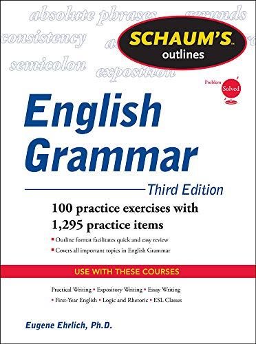 9780071756075: Schaum's Outline of English Grammar, Third Edition (Schaum's Outlines)