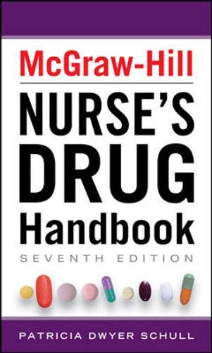 9780071756099: McGraw-Hill Nurse's Drug Handbook, Sixth Edition (McGraw-Hill's Nurses Drug Handbook)