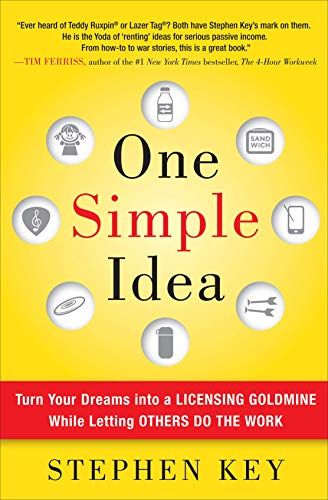 9780071756150: One Simple Idea: Turn Your Dreams into a Licensing Goldmine While Letting Others Do the Work