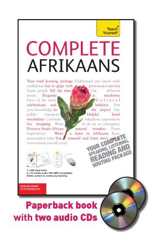 9780071756310: Complete Afrikaans: Beginner to Intermediate [With Paperback Book] (Teach Yourself (McGraw-Hill))