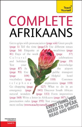 9780071756327: Complete Afrikaans (Teach Yourself: Level 4 (Paperback))