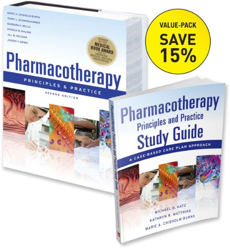 9780071756426: Pharmacotherapy Principles and Practice (VALUE PACK 3)