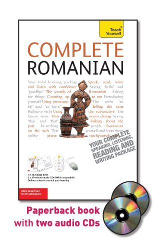 9780071756488: Teach Yourself Complete Romanian: From Beginner to Intermediate [With Paperback Book] (Teach Yourself Language Complete Courses)