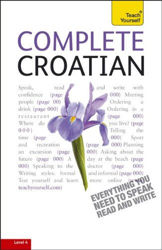 9780071756549: Complete Croatian: A Teach Yourself Guide (TY: Language Guides)