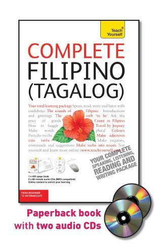 9780071756587: Complete Filipino (Tagalog): From Beginner to Intermediate [With 400-Page Book] (Teach Yourself)