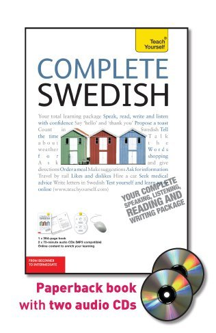 9780071758789: Teach Yourself Complete Swedish: From Beginner to Intermediate [With Paperback Book] (Teach Yourself Language Complete Courses)
