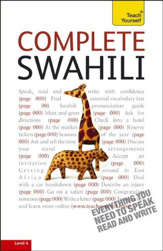 9780071758840: Complete Swahili: A Teach Yourself Guide (TY: Language Guides)