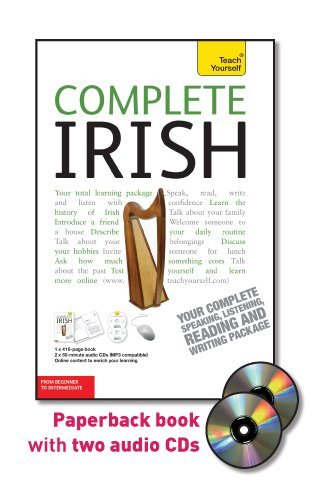 9780071758987: Teach Yourself Complete Irish: From Beginner to Intermediate [With Paperback Book] (Teach Yourself Language Complete Courses)