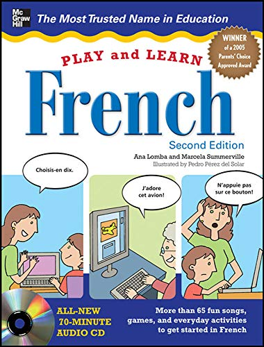 9780071759243: Play and Learn French with Audio CD, 2nd Edition