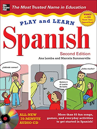 9780071759281: Play and Learn Spanish with Audio CD, 2nd Edition