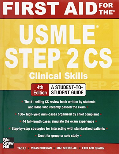 9780071760508: First Aid for the USMLE Step 2 CS, Fourth Edition