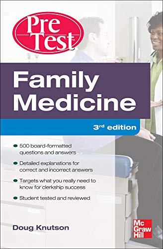9780071760522: Family Medicine PreTest Self-Assessment And Review, Third Edition (Pretest Clinical Medicine)