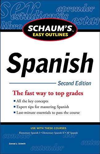 9780071760560: Schaum's Easy Outline of Spanish, Second Edition (Schaum's Easy Outlines)
