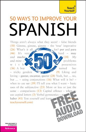 9780071760614: 50 Ways to Improve Your Spanish: A Teach Yourself Guide (TY: Language Guides)